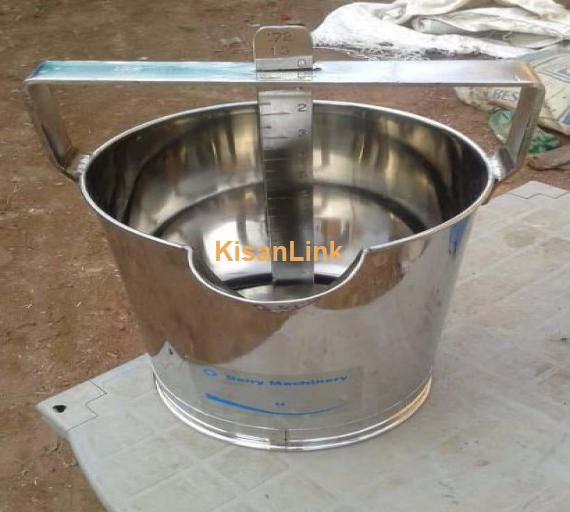 Milk measuring can available